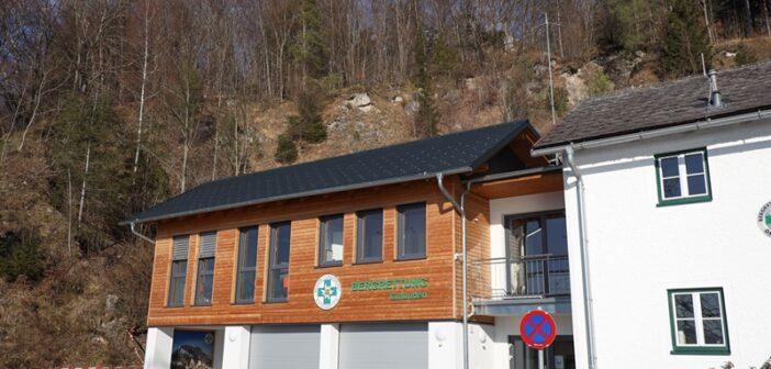 Felsblock über Bergrettungshaus soll gesprengt werden