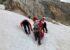 Alpinistin von Steinschlag getroffen