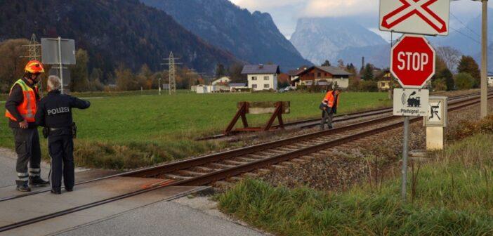 Tödliche Kollision mit Zug in Ebensee